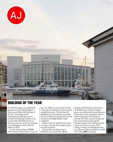 AJ Building of the Year 2014